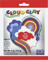 American-Art-Clay Cloud Clay Red 4 oz Clay Art Kit #30202b