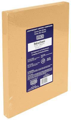 American Art Clay Co. Balsa Foam II 10 lb 9x12x1 -- Art And Craft Miscellaneous -- #43007e