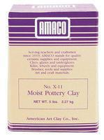 American-Art-Clay X11 Moist Clay 5 lb Clay Art Kit #46313k