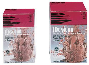 American Art Clay Co. X119 Mexican Pottery Clay 5 lb -- Clay Art Kit -- #48652c
