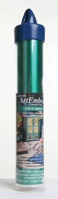 American Art Clay Co. Mtl Sht mint grn 9.25x12''