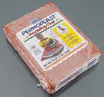 American-Art-Clay X33 Terra Cotta Permoplast Clay 1# Clay Art Kit #90059k