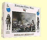 A Call To Arms English Civil War- Royalist Artillery (16) -- Plastic Model Military Figure -- 1/32 Scale -- #14