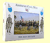 A-Call-To-Arms American Civil War- Iron Brigade (16) Plastic Model Military Figure 1/32 Scale #18