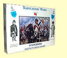 A-Call-To-Arms Napoleonic Wars- French Dragoons (8) Plastic Model Military Figure 1/32 Scale #20