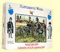 A-Call-To-Arms Napoleonic Wars- British Foot Artillery (16) Plastic Model Military Figure 1/32 Scale #22