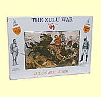 A-Call-To-Arms Zulu War- Zulus at Ulundi (16) Plastic Model Military Figure 1/32 Scale #24
