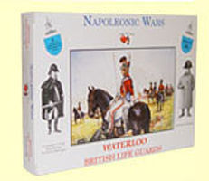 A-Call-To-Arms Napoleonic Wars- Waterloo British Life Guards (8) Plastic Model Military Figure 1/32 #26