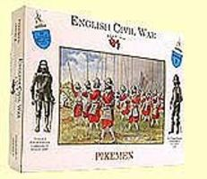 A-Call-To-Arms English Civil War- Pikemen (20) Plastic Model Military Figure 1/32 Scale #2