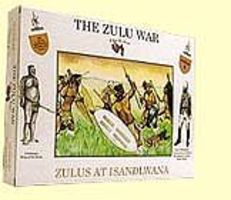 A-Call-To-Arms Zulu War- Zulus at Isandlwana (16) Plastic Model Military Figure 1/32 Scale #4