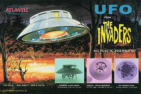 Atlantis 1/72 UFO from Classic TV The Invaders