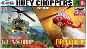 Atlantis 1/72 Fire Fighter Helicopter (Snap) (formerly Monogram)