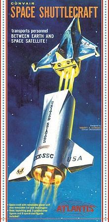 - 1:72 set 2 Space Battles DDS72006 Orion