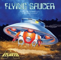 Atlantis 1/72 The Fling Saucer w/Clear Dome from Classic TV The Invaders (formerly Aurora)