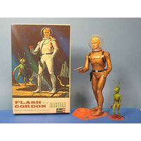 Atlantis Flash Gordon Figure 1965 Plastic Model Celebrity 1/8 Scale #3003