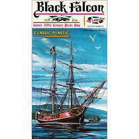 Atlantis Black Falcon Pirate Ship Classic Plastic Model Sailing Ship 1/100 Scale #6003