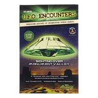 Atlantis Monument Valley UFO 5 Lighted Glow In Dark