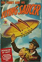 Atlantis VIC TORREY FLYING SAUCER