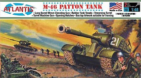 Atlantis US M46 Patton Tank 1-48