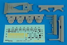Aerobonus MHU191/M Munition Transporter Plastic Model Aircraft Accessory 1/32 Scale #320015