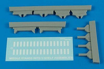 Aerobonus USAF Missile Maintenance Stands -- Plastic Model Aircraft Accessory -- 1/32 Scale -- #320016