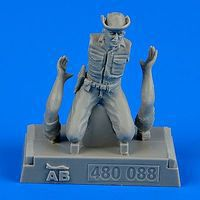 Aerobonus USAF Maintenance Crew #1 Farm Gate Operation Plastic Model Military Figure 1/48 #480088