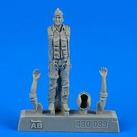 Aerobonus USAF Fighter Pilot Vietnam War 1960-75 Plastic Model Military Figure 1/48 Scale #480089