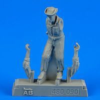 Aerobonus USAF Maintenance Crew #2 Farm Gate Operation Plastic Model Military Figure 1/48 #480090