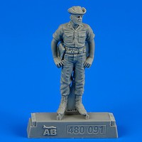 Aerobonus USAF Maintenance Crew #3 Farm Gate Operation Plastic Model Military Figure 1/48 #480091