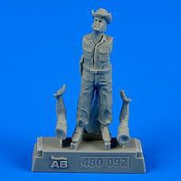 Aerobonus USAF Maintenance Crew #4 Farm Gate Operation Plastic Model Military Figure 1/48 #480092