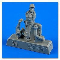 Aerobonus USAF Maintenance Crew #5 Farm Gate Operation Plastic Model Military Figure 1/48 #480094