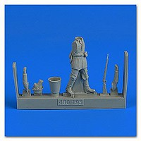 Aerobonus WWII German Infantry (Pose TBD) Plastic Model Aircraft Accessory 1/48 Scale #480195