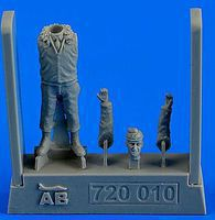 Aerobonus UAF Fighter Pilot Korean War 1950-53 Plastic Model Aircraft Accessory 1/72 Scale #720010