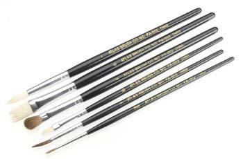 Atlas Brush Co. Economy Brush Set 6-pcs