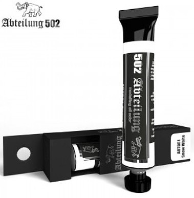 Abteilung Weathering Oil Paint Snow White 20ml Tube
