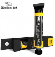 Abteilung Weathering Oil Paint Luftwaffe Yellow 20ml Tube Hobby Model and Oil Paint #10