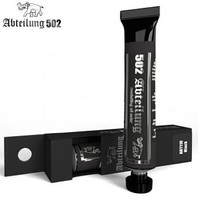 Abteilung Weathering Oil Paint Black 20ml Tube