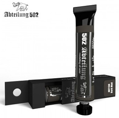Abteilung Weathering Oil Paint Dark Mud 20 ml Tube Hobby and Model Oil Paint #130
