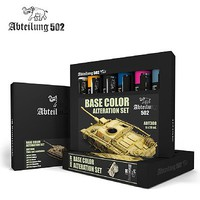Abteilung Base Color Alteration Oil Paint Set (6 Colors) 20ml Tubes