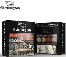 Abteilung Urban Textures & Buildings Pigment Set (4 Colors) 20ml Bottles