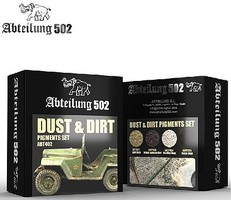 Abteilung Dust & Dirt Pigment Set (4 Colors) 20ml Bottles