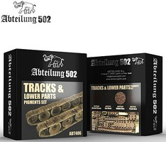 Abteilung Tracks & Lower Parts Pigment Set (4 Colors) 20ml Bottles