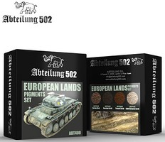 Abteilung European Lands Pigment Set (4 Colors) 20ml Bottles