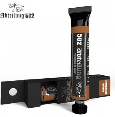Abteilung Weathering Oil Paint Burnt Umber 20ml Tube