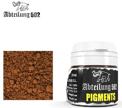 Abteilung Weathering Pigment Light Rust 20ml Bottle