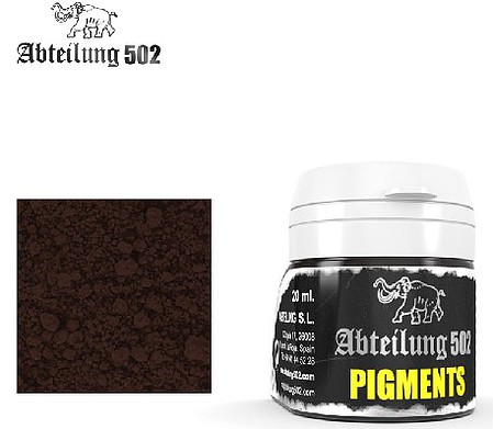 Abteilung Weathering Pigment Track Rust 20ml Bottle