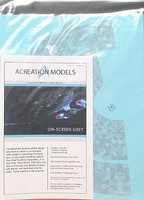 Acreation 1/1400 Star Trek USS Enterprise NCC1701D Aztec Decals for AMT