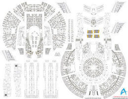 Acreation Star Trek USS Enterprise NX1 Aztec Decals Plastic Model Spaceship Decals 1/1000 #140