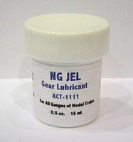 Aero-Car NG Jel Gear Lube 1/2oz. Jar Model Train Track Accessory #1111