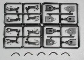 Accurail Accumate Coupler - Medium Shank (.055) w/Box - 2 Pairs HO Scale Model Train Parts #1013